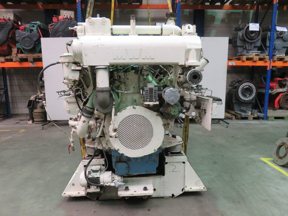 Used marine generator sets
